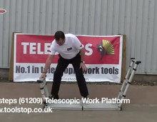 Телескопическая рабочая платформа Telesteps (Швеция)