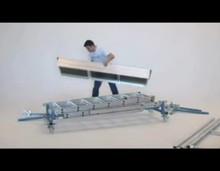 Вышка складная телескопическая алюминиевая (Германия)