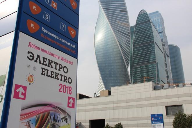 По залам и стендам «Электро-2018»