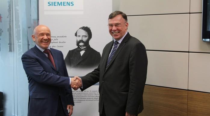 МТПП и компания «Сименс» подписали соглашение о сотрудничестве