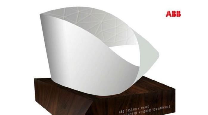 АББ учредила исследовательскую премию в честь Хубертуса фон Грюнберга, бывшего председателя совета директоров