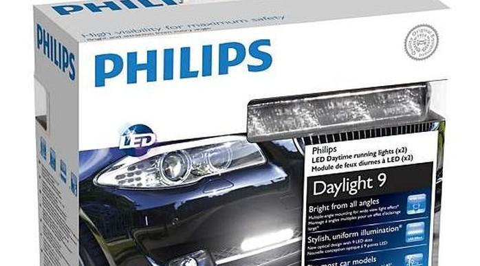 Дневные ходовые огни Philips LED DayLight 9: еще один шаг к безопасности на дорогах