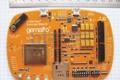 Модуль EHS6 и макетная плата Cinterion Concept Board в руках специалиста