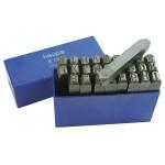 130208 Штамповочные буквы 3 mm Haupa