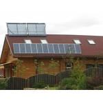 Электростанция 3 кВт на солнечных батареях