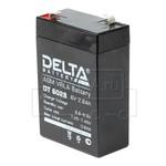 DELTA DT 6028 (6В,2.8Ач / 6V, 2.8Ah)