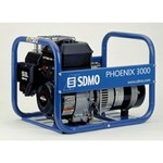 SDMO Бензогенератор PHOENIX 2500 на колесах