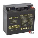 Аккумуляторы для ИБП General Security GS 18-12