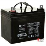 Аккумуляторная батарея General Security GS 33-12