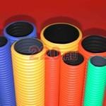 NR063 Трубы NOVA двустенные для прокладки кабеля под землей D63 мм (внешн.), бухта 50м