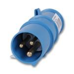 Силовой штекер 16А 220В   Цвет: голубой