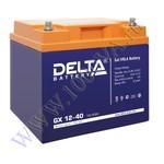 DELTA GX 12-40 (12В, 40Ач / 12V, 40Ah)