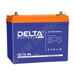 DELTA GX 12-60 (12В, 60Ач / 12V, 60Ah)