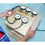 Прибор М-100 для проверки пневматического привода тормозной системы