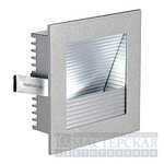 111291 SLV FRAME CURVE LED светильник встр. с белым LED 1Вт, серебристый/алюминий