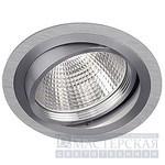 111680 SLV NEW TRIA ROUND G12 светильник встр. HQI-T/CDM-T G12 70Вт макс., мат. алюминий