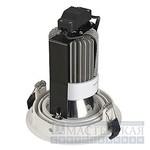 113581 SLV NEW TRIA LED DISK светильник встр. LED 14.5Вт, 2700K, 35гр., 630lm, текстурный белый