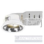 161501 SLV PLADO 1x18W светильник встр. с ЭмПРА TC-D G24d-2 18Вт, белый
