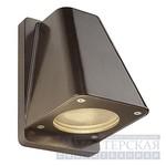 227198 SLV WALLYX GU10 светильник настенный IP44 GU10 50Вт макс., старая бронза