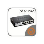 Коммутаторы D-Link DGS-1100-05