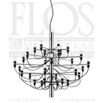 Flos 2097/30 E/S/GB CROMO A1400057 хром