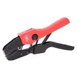 CTB серия: Пресс-клещи CTB-05 (™КВТ)   - коннекторы: неизолированные медные наконечники сечением: 0,5-6 мм/кв.