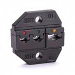 Пресс гидравлический ручной ПГР-70 (™КВТ)   - опрессовка наконечников сечением: Cu 4-70 мм/кв. Al 10-70 мм/кв.