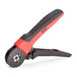 Инструмент для снятия изоляции WS-09 (™КВТ)   – снятие изоляции проводов 0,5 - 6,0 мм/кв. – снятие оболочки круглых кабелей d 8 - 13 мм. – зачистка коаксиальных кабелей RG-6, SAT