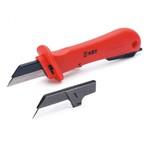 """Пресс-клещи ХСС8 6-6 РОСТ для опрессовки изолированных наконечников (штыревых, втулочных одинарных и двойных) сечением 0,25-6 мм/кв, обжим """"шестигранником"""". Саморегулирующейся матрица диафрагменного типа."""