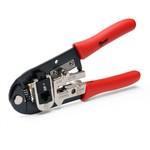 Пресс-клещи электрические ПКЭУ-0560 РОСТ + набор насадок для обжима ИЗОЛИРОВАННЫХ и НЕИЗОЛИРОВАННЫХ наконечников и гильз различных типов сечением от 0,25 до 10 мм/кв.