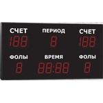 Спортивное табло для баскетбола, модель Импульс-715-D15x13-R