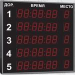Спортивное табло для бассейна, модель Импульс-711-L5xD11x7-ER