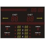 Спортивное табло для волейбола №3, модель ТС-270х4_210х4_130х18_РБС-120-160х8_120-96х8_080_32х8х8b