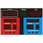 Спортивное табло для самбо №1, модель ТС-150х15_РБС-100-32х8х2_080-5х5х7b