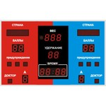 Спортивное табло для самбо №3, модель модель ТС-100х15_РБС-080-32x8x2b_5х5х9b