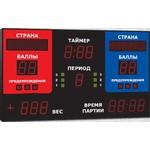 Спортивный табло для греко-римской борьбы, модель Импульс-711-D11x15-L2xS8x32-L2xS3x2-Px1-ERG2 (Уличное исполнение)