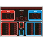 Табло для баскетбола №12, модель ТС-210х6_130х7_057х48_РБС-080-160х8_4х4х126b