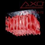 AXO Light AURA PLAUP30IRSCRE27 потолочный светильник красный