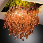 AXO Light AURA PLAURP30ARORE27 потолочный светильник оранжевый