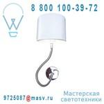 A1134/1 + 41064 Applique flexible Blanc - AC DESIGN Aromas
