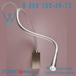 ACON.000190 Applique/liseuse Acier 90 - FLEXILED Contardi