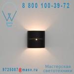 IN-ES060B03 Applique Noir/Orange - PUNTO LUCE In-es Artdesign