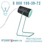 IN-ES060014N-T Lampe a poser Noir/Turquoise - PAINT LAVAGNA In-es Artdesign