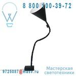 IN-ES070015N-B Lampe de sol Noir/Blanc - FLOWER LAVAGNA In-es Artdesign