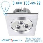 3276004168276 - 68605411 Spot encastrable LED Gris - WELS Inspire
