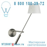 153101000 + 811082501 Applique abat-jour metal Blanc - LIBRA Metalarte