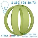 1218900/083 Suspension Vert Anis - 4 ANNEAUX Metropolight