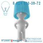 1261908 Lampe a poser Blanc/Bleu - MR P ONE MAN SHY Propaganda