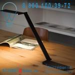 ZR11 _D Noir / 9H.W1TQD.WQ3 Lampe de bureau LED Noir - BE LIGHT QisDesign