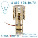 ON21BE9A4 Lampe gold - A TOUCH OF RED Terzani
